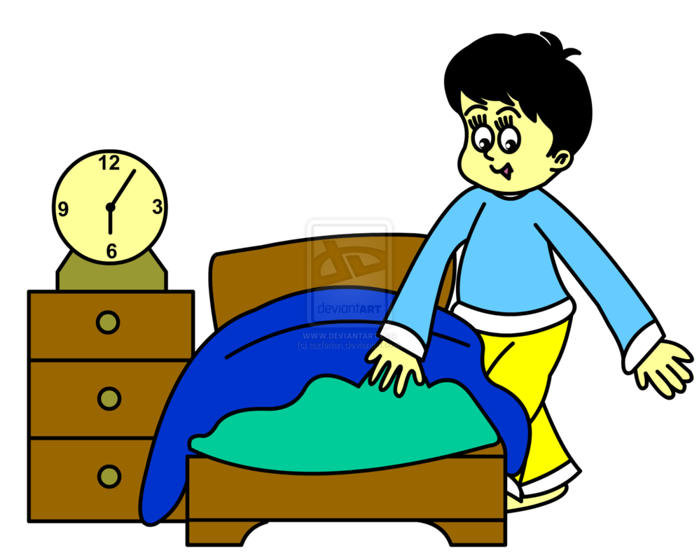 Getting Into Bed Png - ... Getting Into Bed Clipart for kids ...