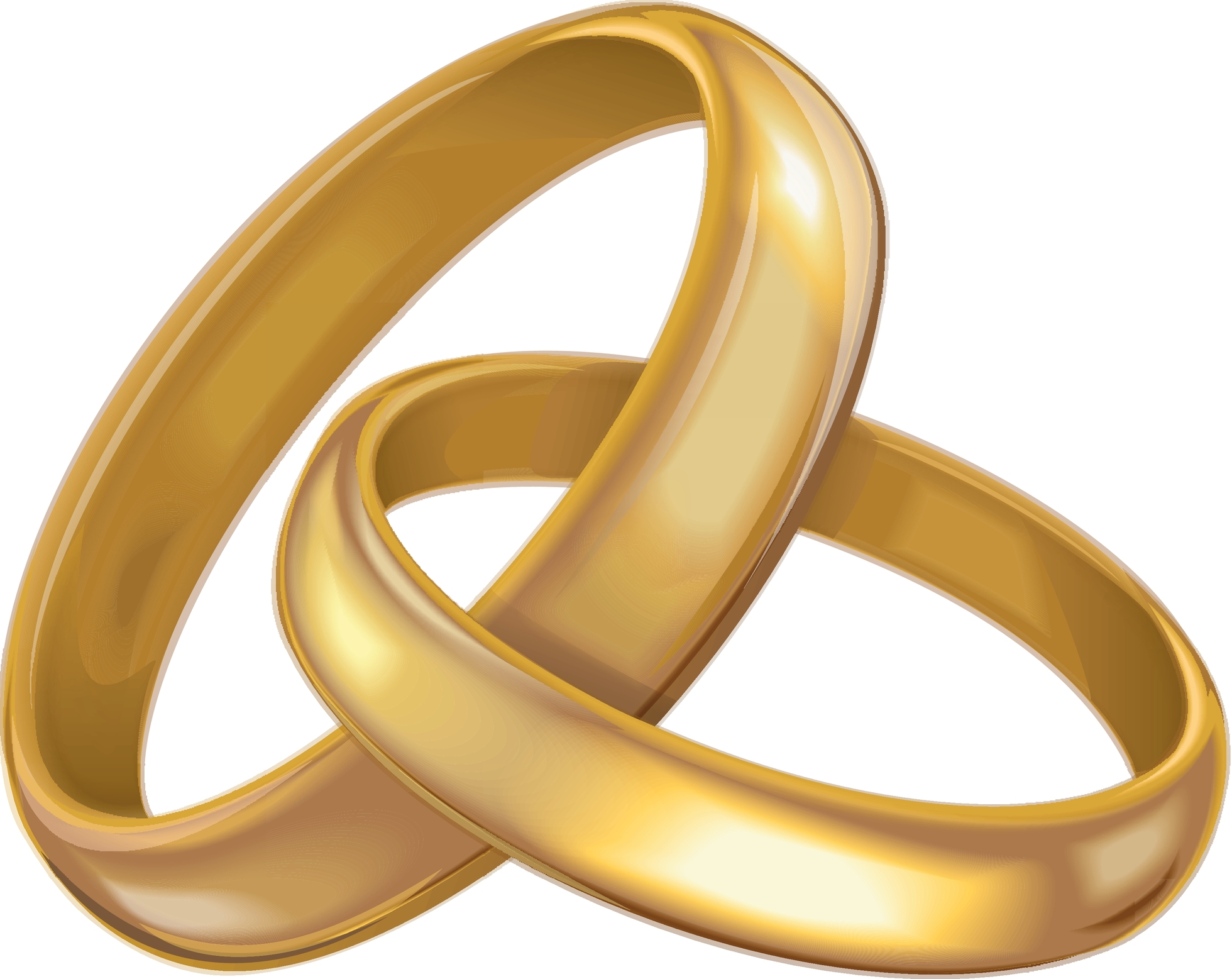 Intertwined Wedding Rings Png Free Intertwined Wedding