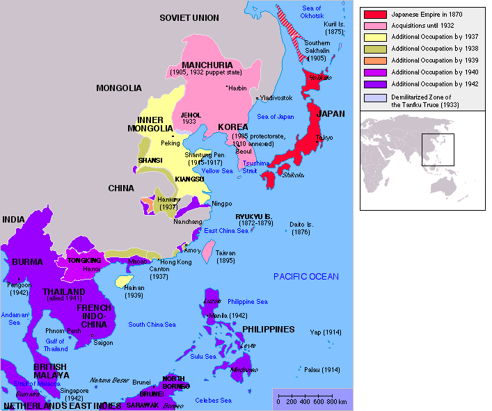 Japanese Invade Southeast Asia Png -