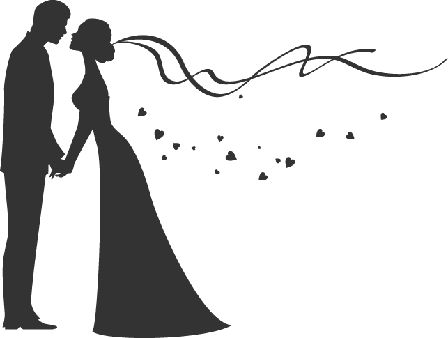 Png Wedding Black And White -