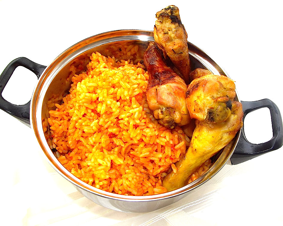 Rice With Chicken Png -