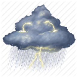 Storm Cloudy Png -