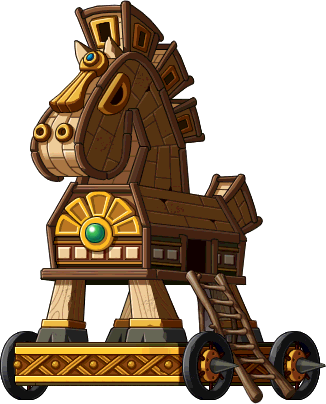 Wooden Horse Png -