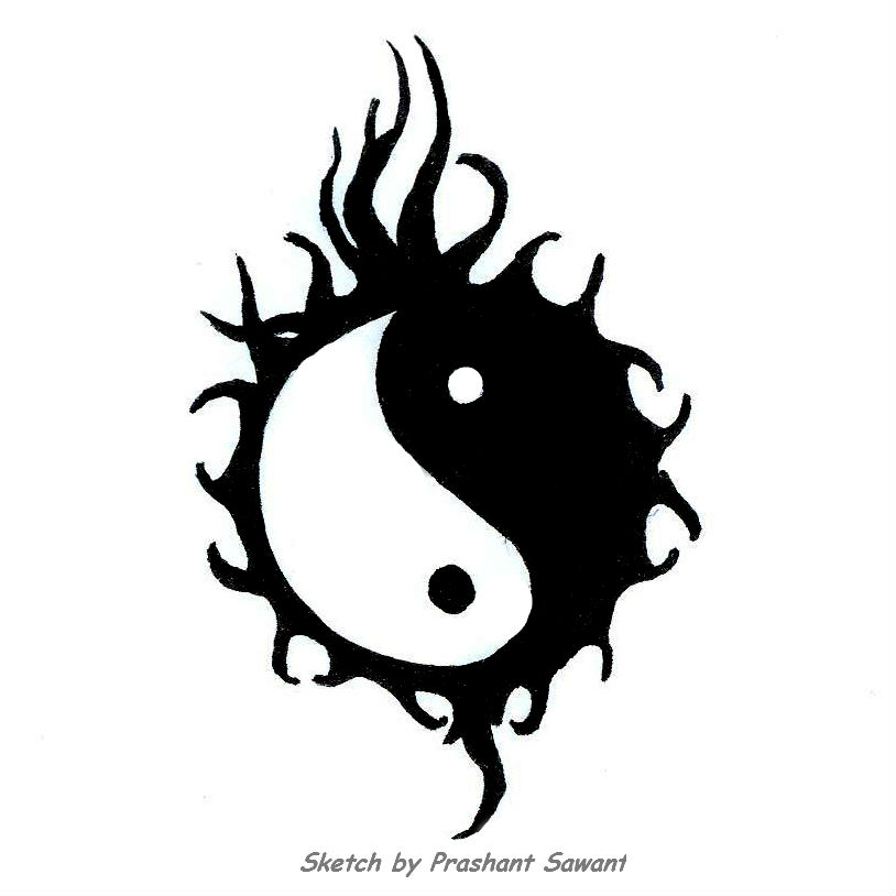 Yin Yang Dragon Tattoo Designs 19 Dc 18700 Png Images Pngio