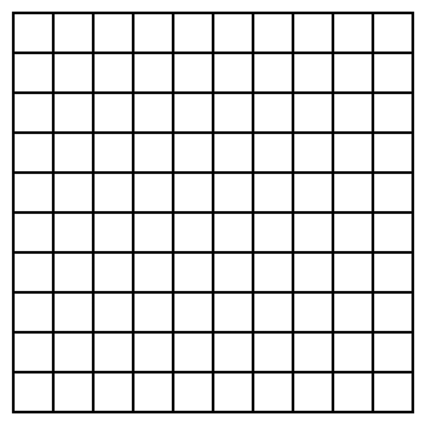 It's just an image of 100 Square Grid Printable for printing
