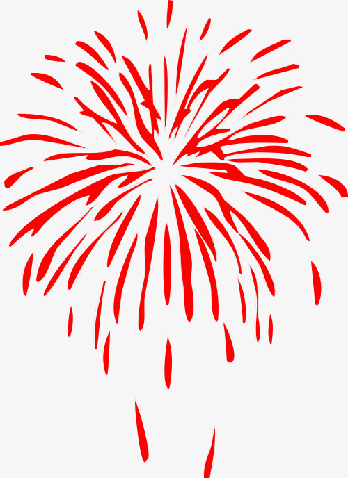 Chinese New Year Fireworks Png - 10222 Chinese free clipart - 4