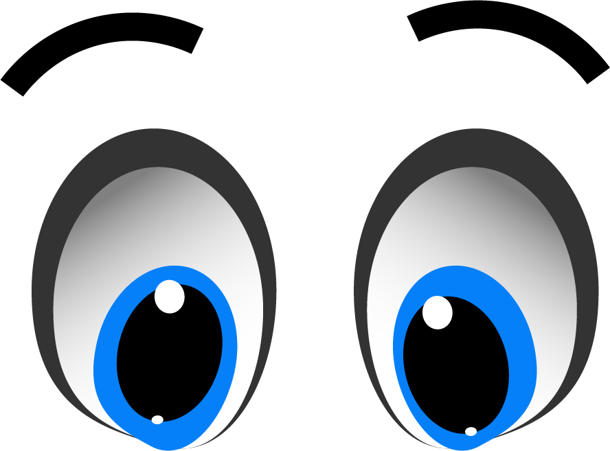 Cartoon Eyes Transparent Background Free Cartoon Eyes