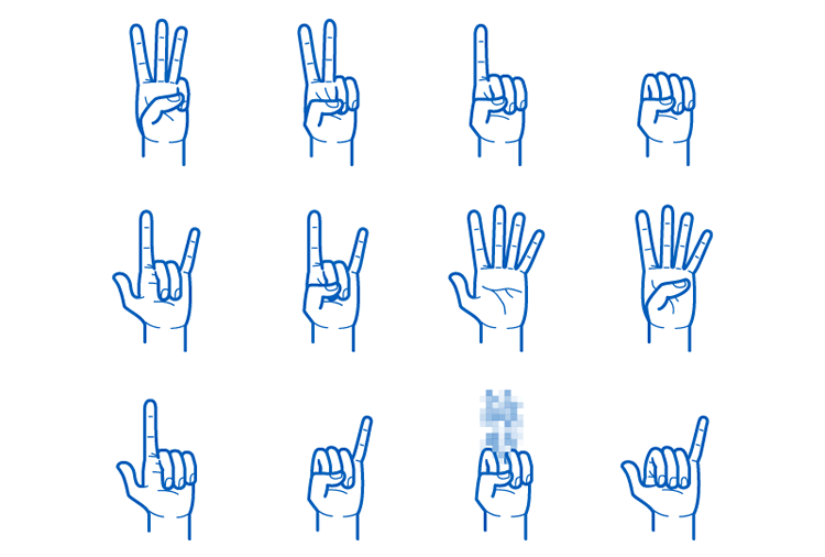 Gesture Png - 15 Free Gesture Icon Sets for Mobile Developers