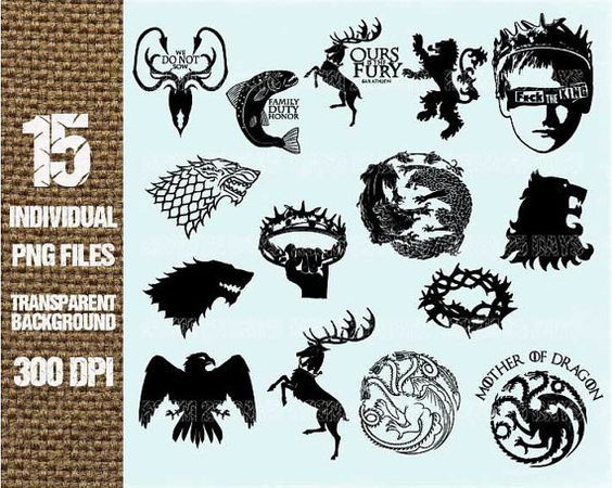 15 Game Of Thrones Element Clipart Digit 762168 Png Images Pngio