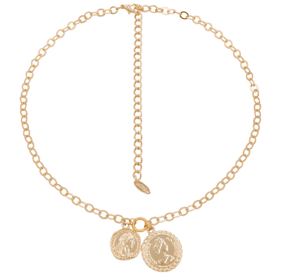 Golden Coin Necklace Png - 16 Classic Gold Coin Necklaces to Add to Your Jewelry Collection ...