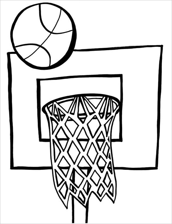 Lebron James Coloring Pages - Coloring Home   758x585
