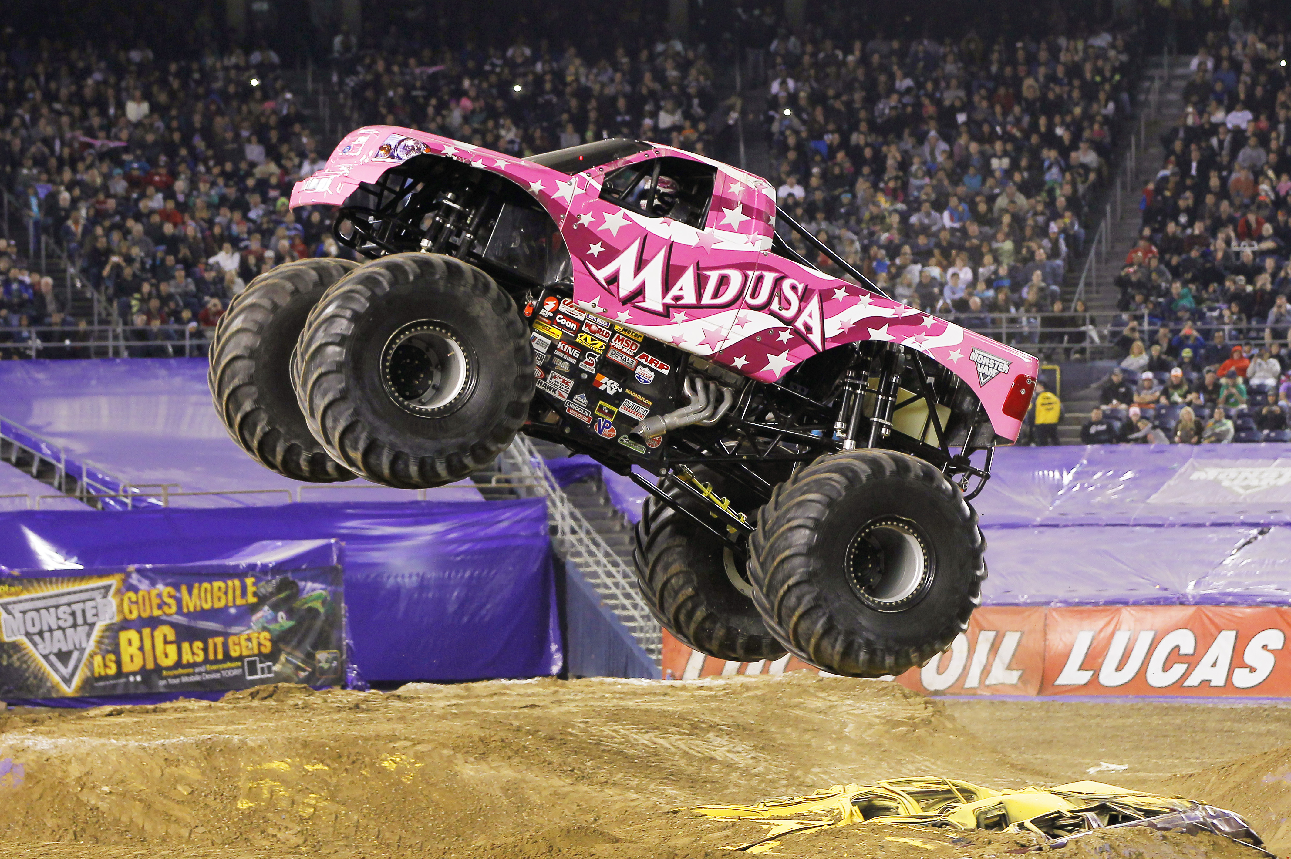 Pink Monster Truck Png Free Pink Monster Truck Png Transparent Images 146970 Pngio