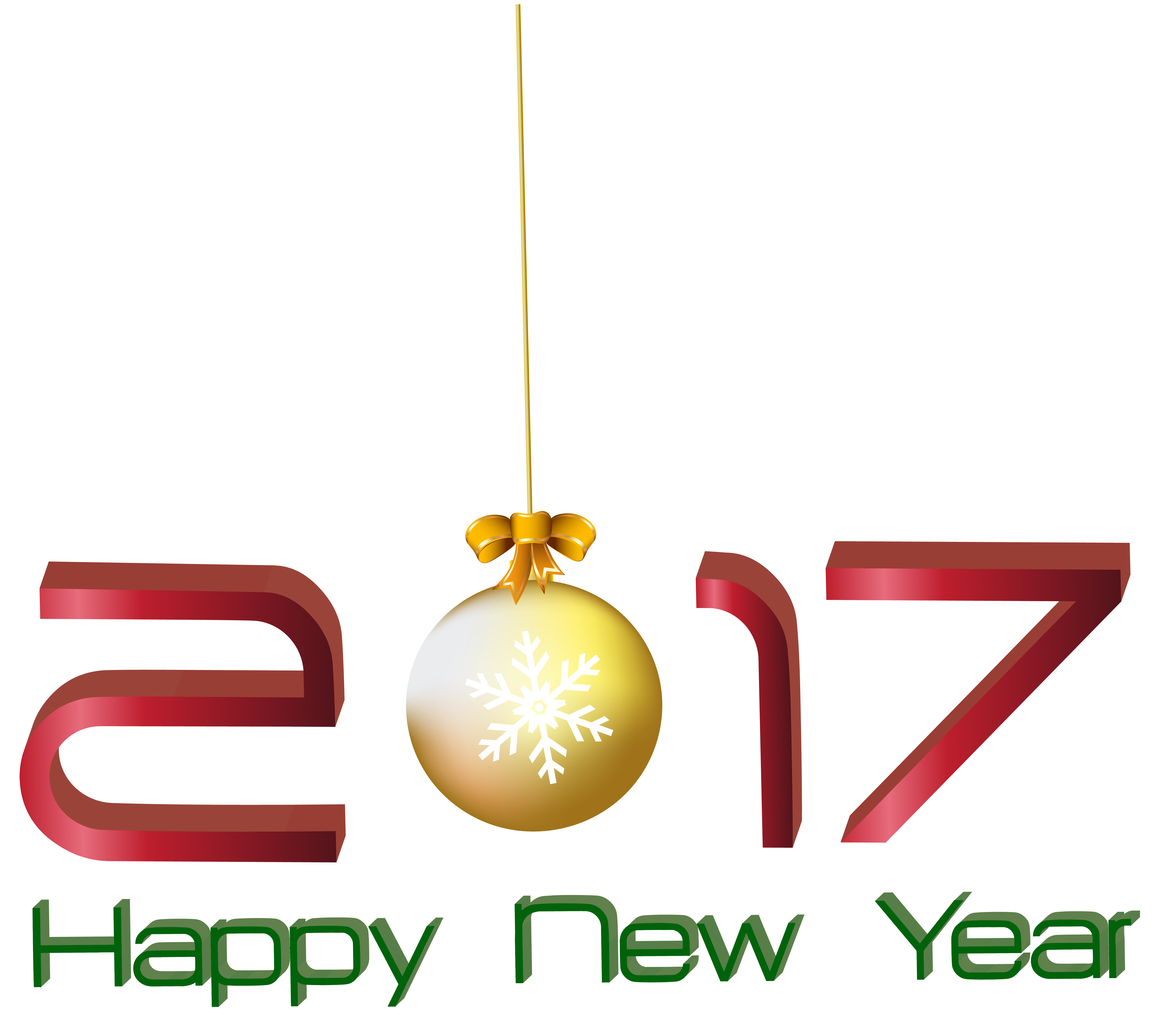 2017 New Year Png - 2017 Happy New Year Transparent PNG Clip Art Image | Gallery ...