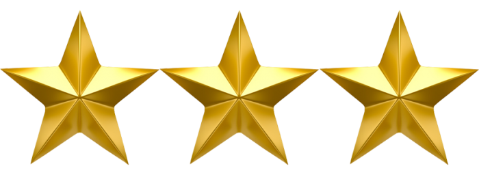 Image result for three stars png