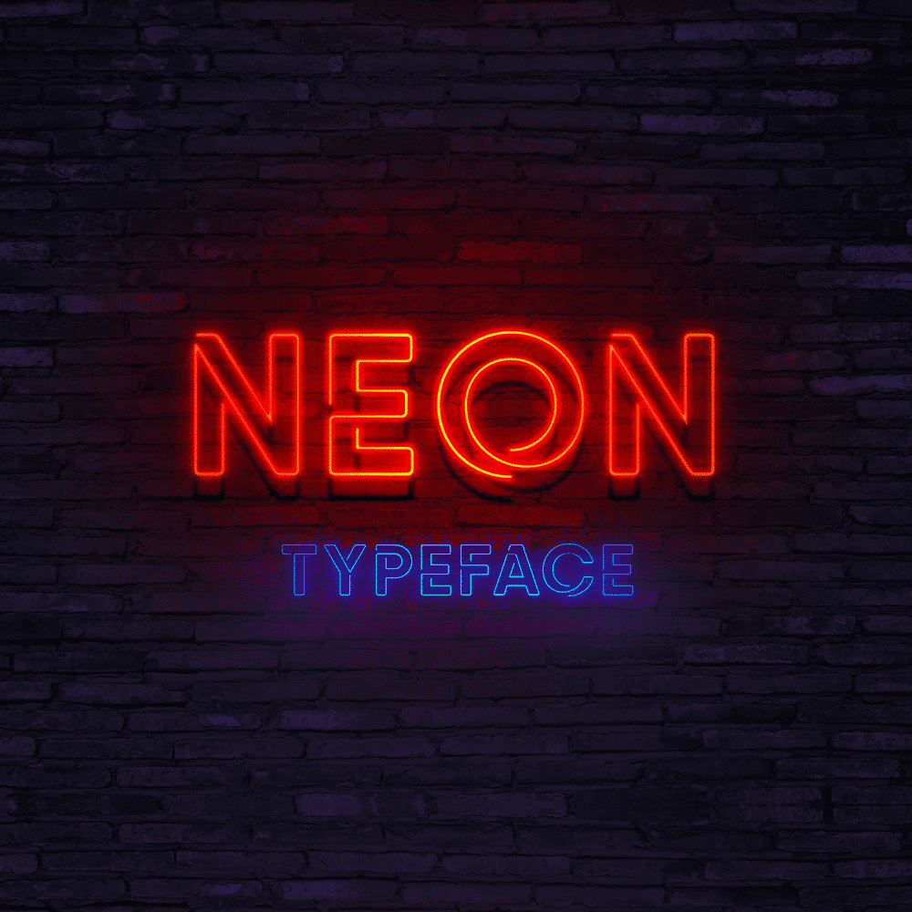 Neon Fonts Png - 30+ Massively Beautiful Neon Fonts for Your Dope Designs ...