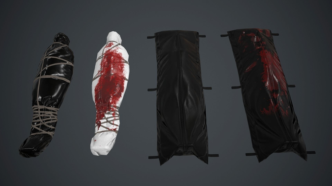 Body Bag Png - 3D model Body Bag Pack PBR Game Ready | CGTrader