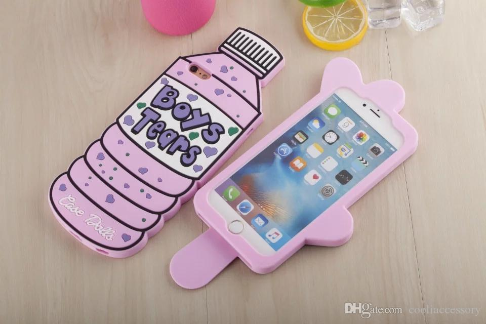 Cartoon Dalls - 3D Soft Silicone GEL Boys Tears Case Dalls For Iphone 7 7PLUS 7gen ...