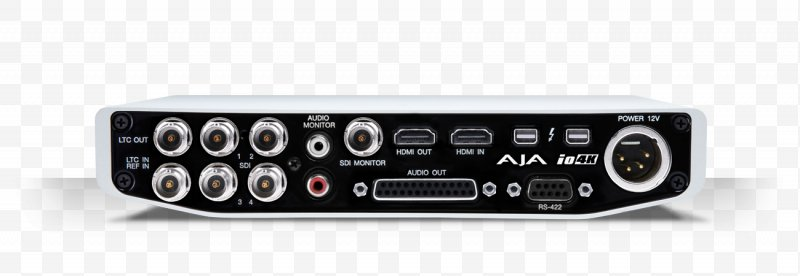 High Resolution Interface Png - 4K Resolution Serial Digital Interface Thunderbolt Input/output ...