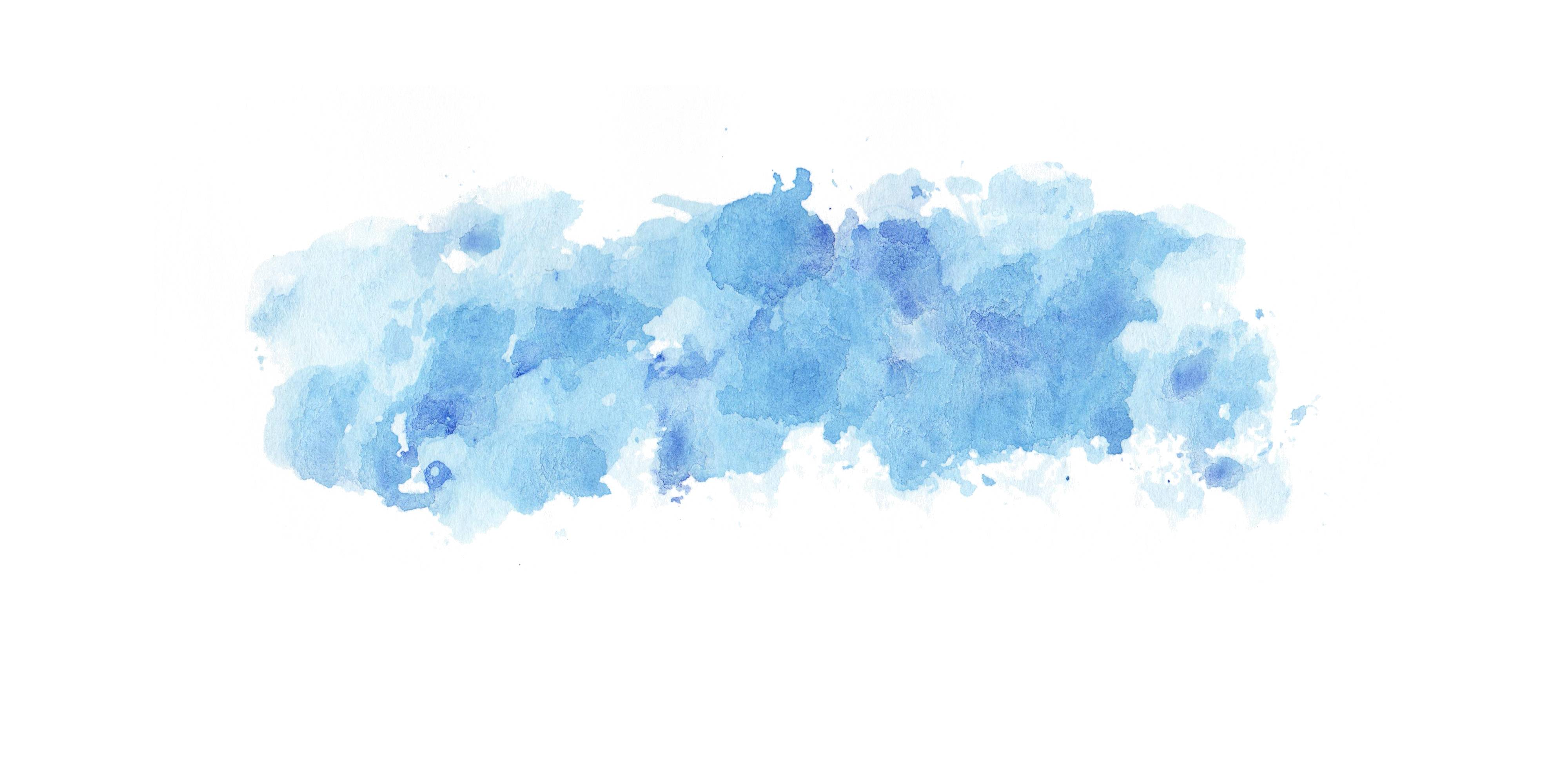 Watercolor Texture Png - 5 Blue Watercolor Clouds Wash Texture (JPG) | OnlyGFX.com