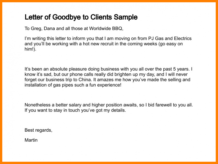 Farewell Letter To Clients from img.pngio.com