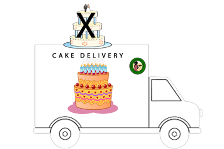 Cake Delivery Png Transparent Images 4024