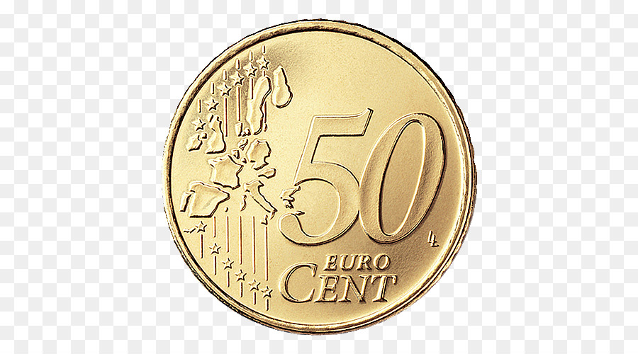 Cent Png - 50 cent euro coin Euro coins - Euro Coin PNG Image png download ...