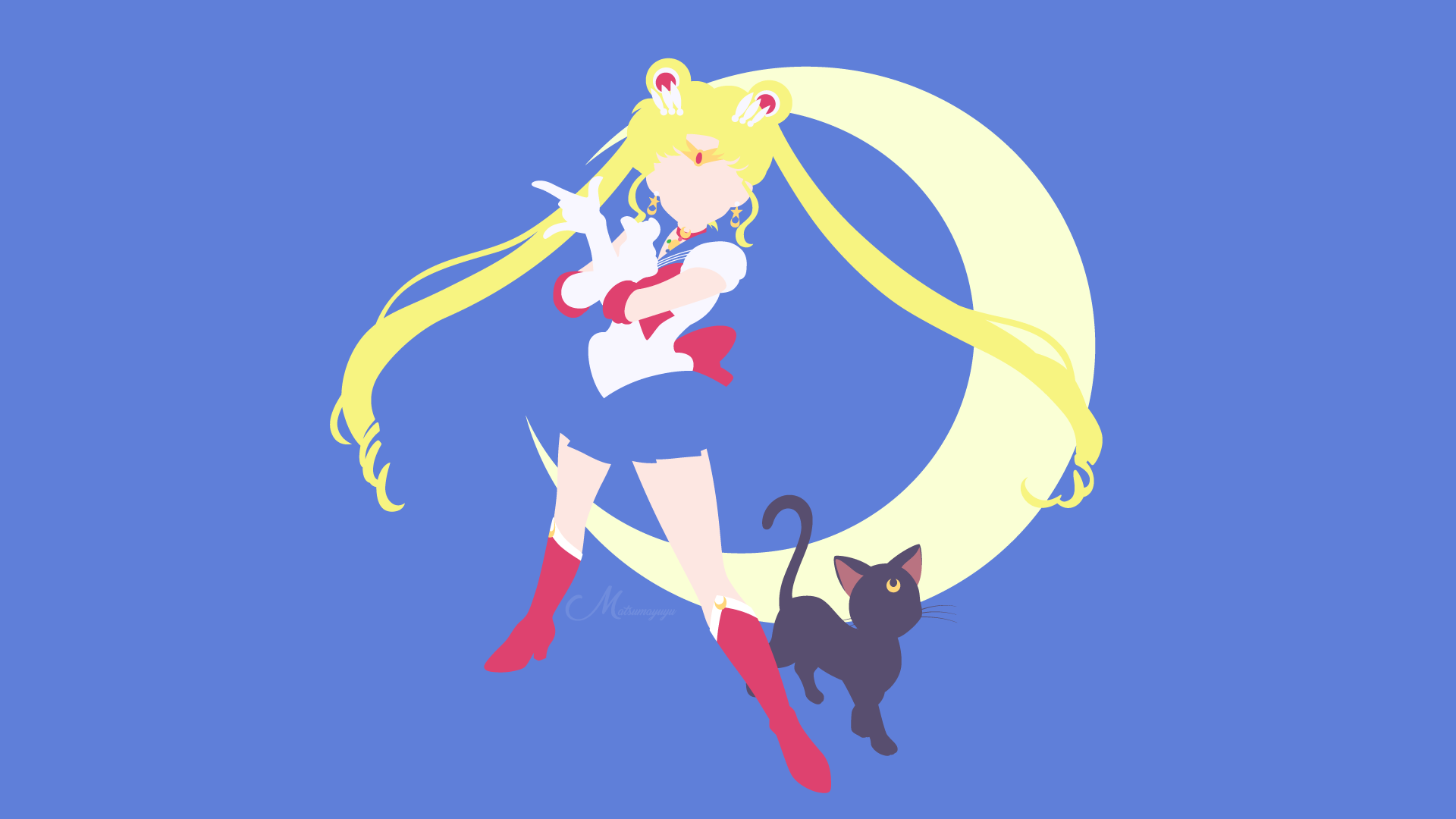 Sailor Moon Background Png - 5051033 1920x1080 Sailor Moon, Luna (Sailor Moon) wallpaper and ...