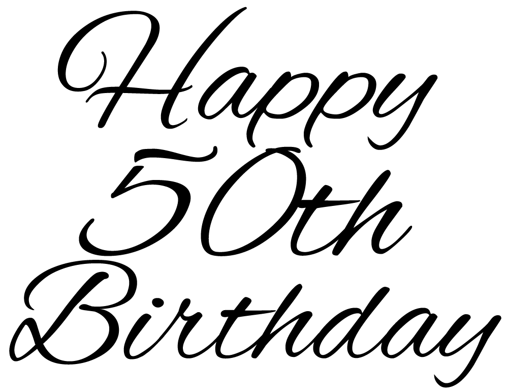 Th Birthday Png - 50th images clipart images gallery for free download | MyReal clip ...