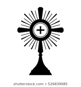 Eucharist Png Black And White - 523 Monstrance Images   Royalty Free Stock Photos on Shutterstock