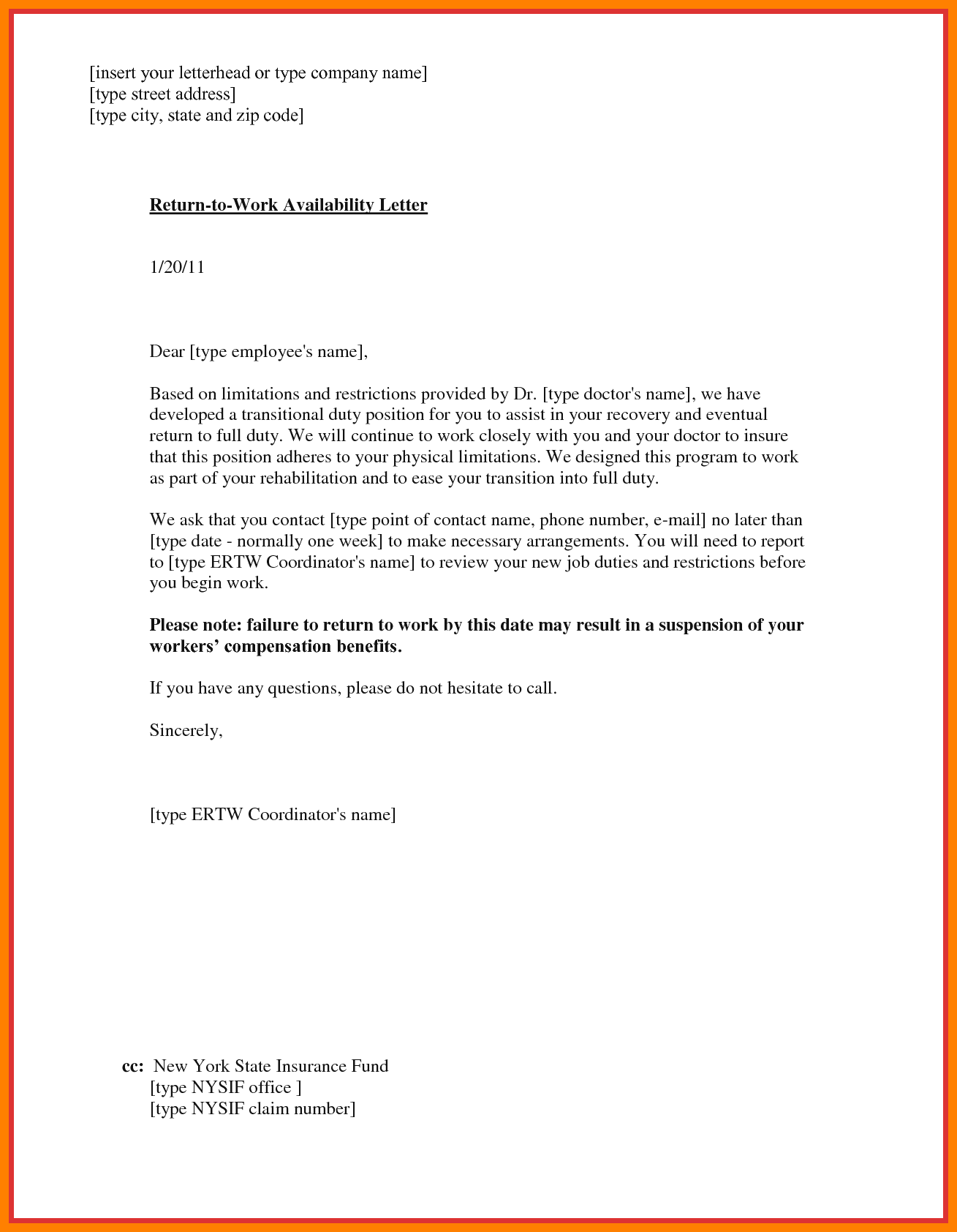 Return To Work Letter From Physician from img.pngio.com