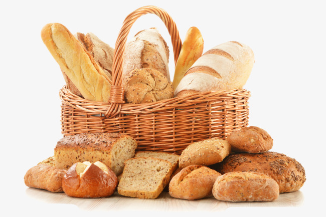 Bread Png - a basket of bread, Basket, Bread, Vector PNG and Vector