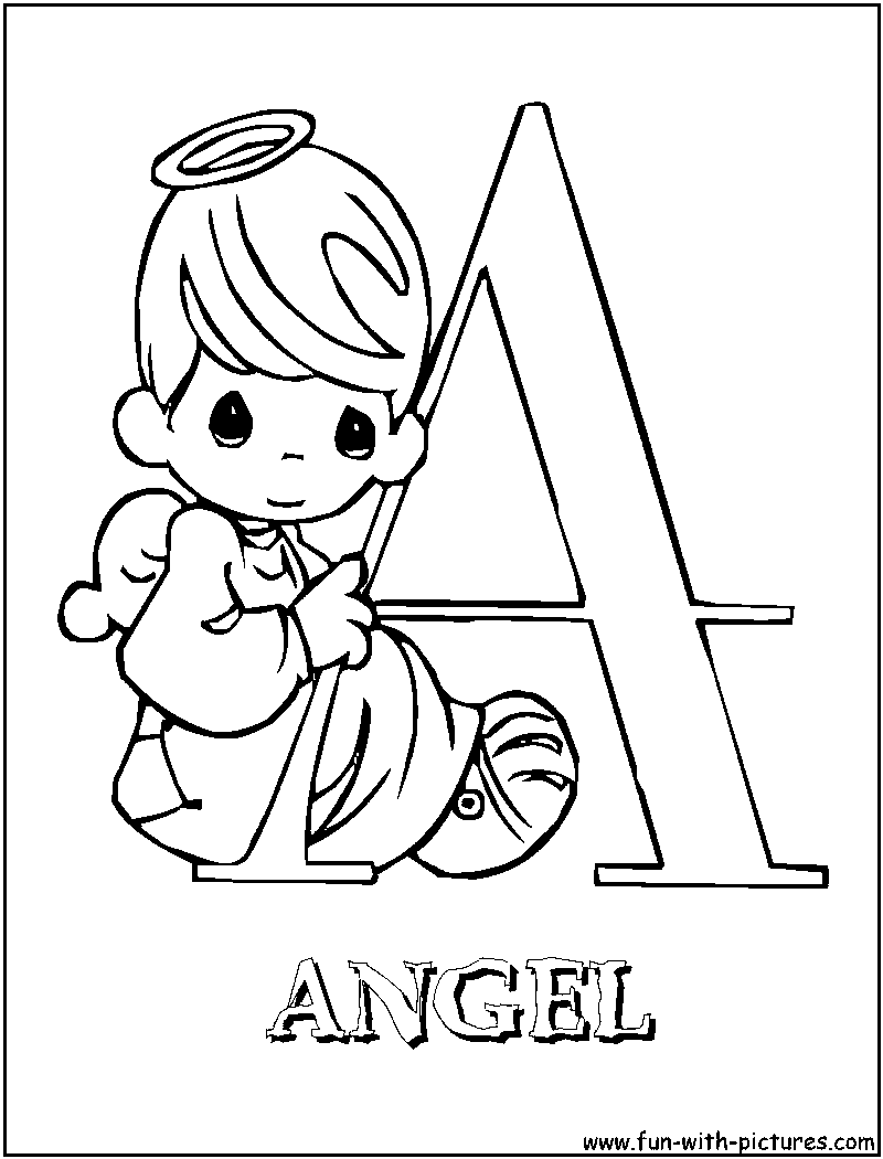 Precious moments - Vintage Adult Coloring Pages | 1050x800
