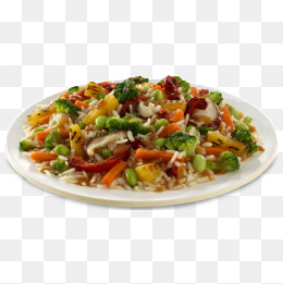 Rice With Chicken Png - a fried rice, Rice Clipart, Fried Rice, Food PNG Image and Clipart