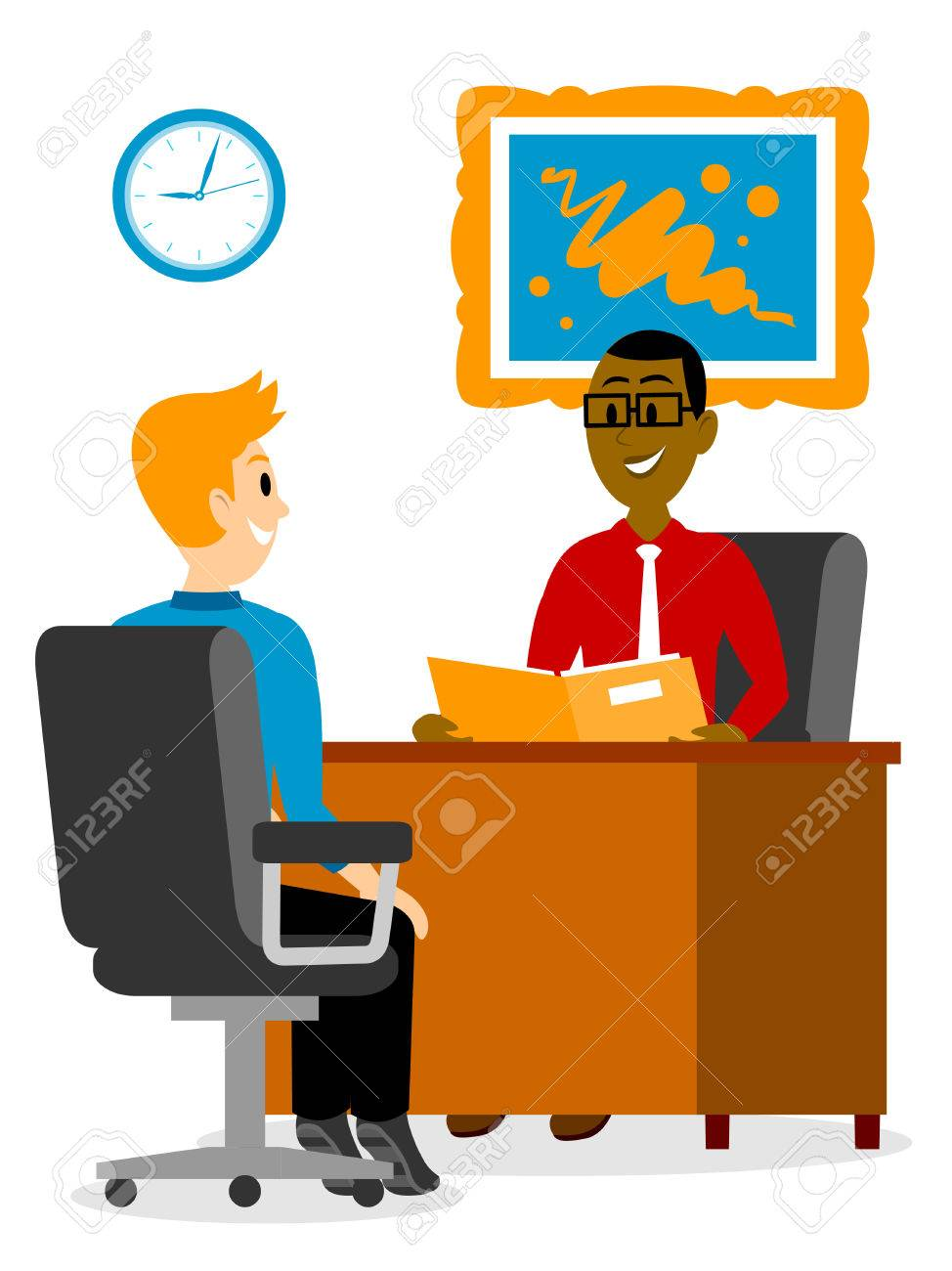 Vector Interview Personal - Job Interview Icon Png Clipart (#322362) -  PinClipart