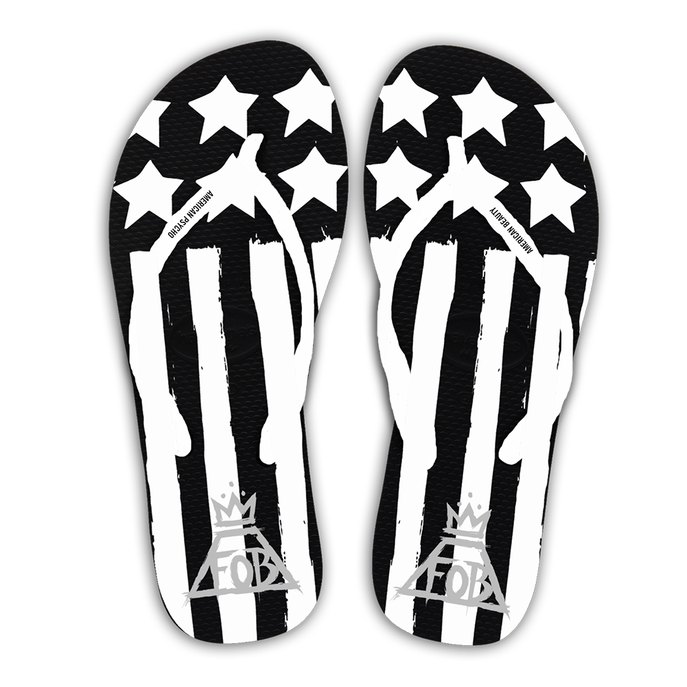 Black And White Flip Flops Png - AB/AP FLIP FLOPS on The Hunt