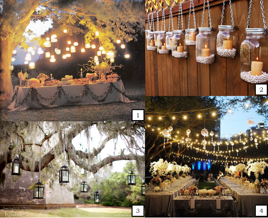Superior Abbey Road Weddings » Hanging Wedding Lights