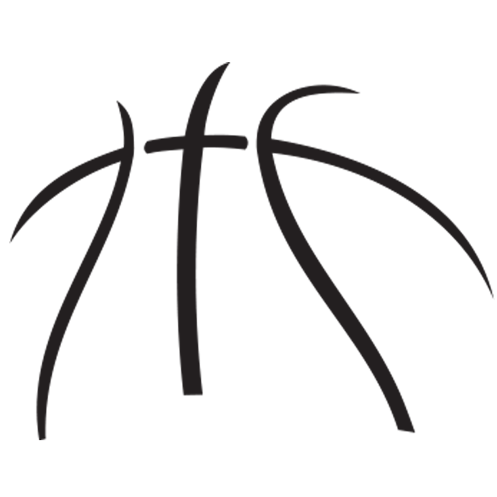 Half Basketball Clipart - About Us — News Release Basketball   Cameo silhouette   Basketball ...