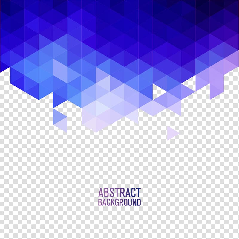 Blue And Purple Abstract Png - Abstract background, Geometry Blue Triangle Euclidean , Blue and ...