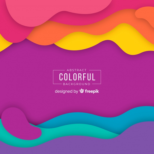 Abstract Colorful Background Vector Fr 678010 Png