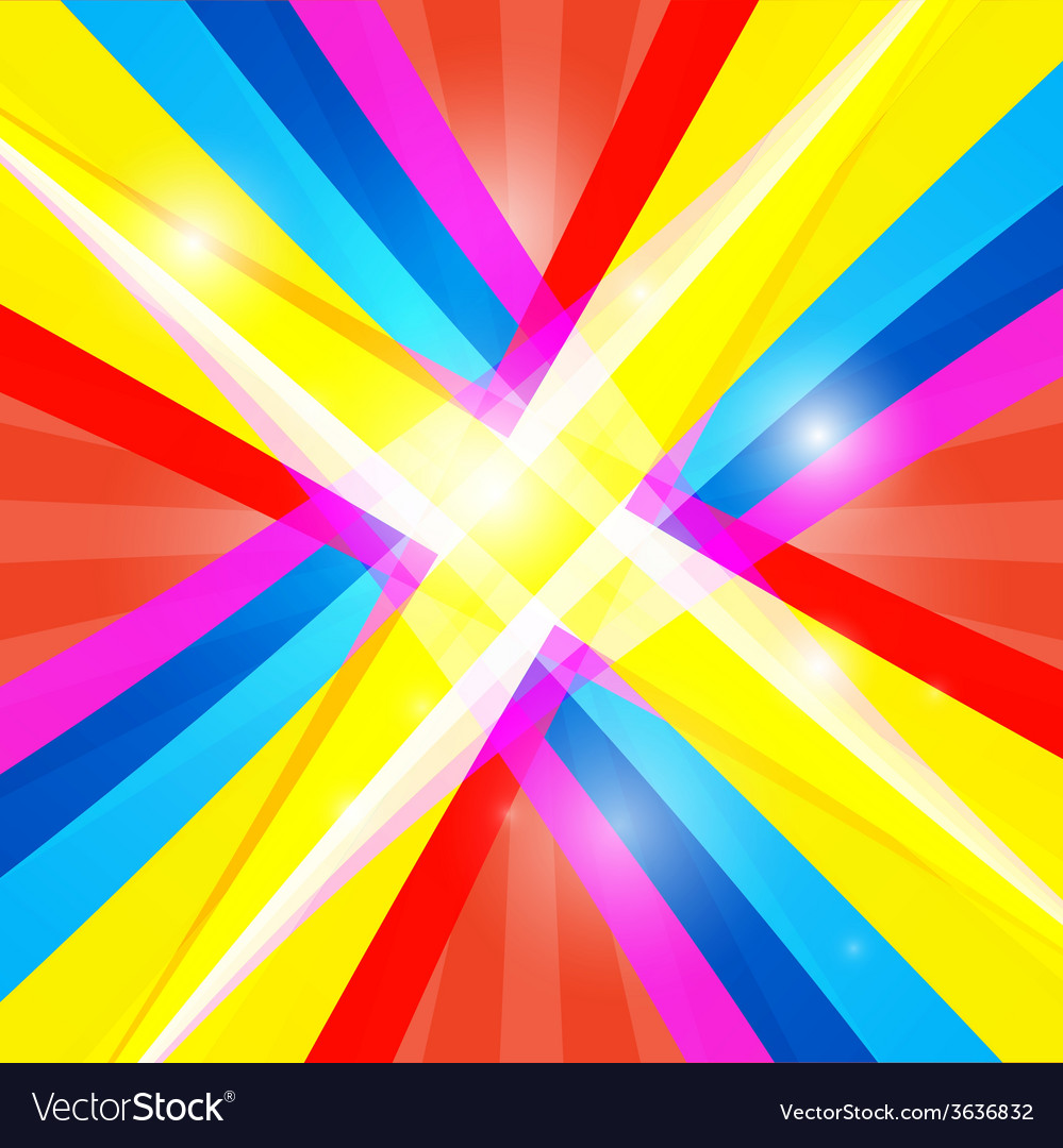 Abstract Colorful Retro Shiny Colorful B 678015 Png