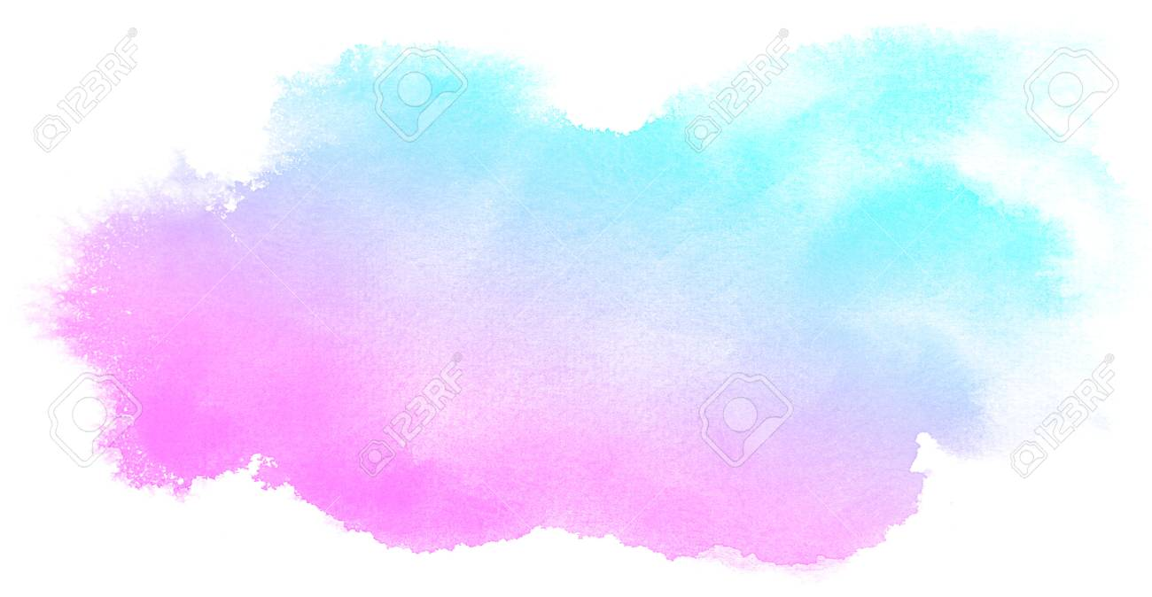Watercolor Splash Background - Abstract Pink Watercolor On White Background.This Is Watercolor ...