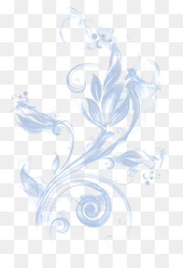 Blue Abstract Flowers Png - Abstraction Vecteur - Abstract Figures png download - 2362*2362 ...