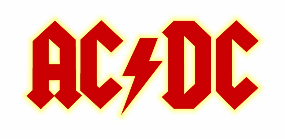 Acdc Png - Acdc Logo Bandout Yellow - Ac Dc Free PNG Images & Clipart ...