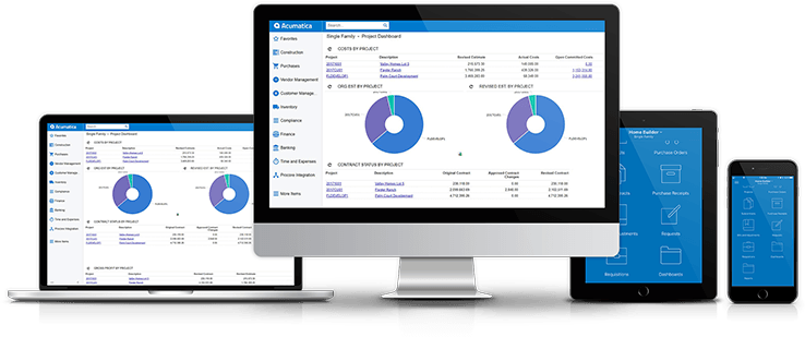 Software Business Png - Acumatica ERP system - Accelerate Your Business!