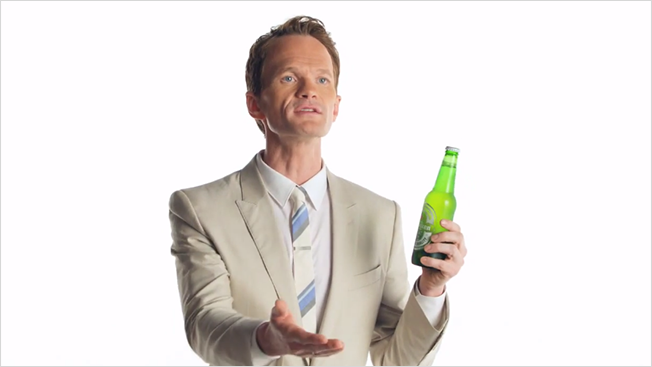 Drinking Beer Png - Ad of the Day: Neil Patrick Harris Doesn't Get Why He Can't Drink ...