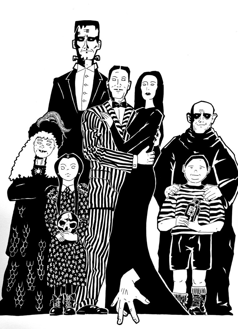 Addams Family Clipart Free Addams Family Clipart Png Transparent Images 41170 Pngio