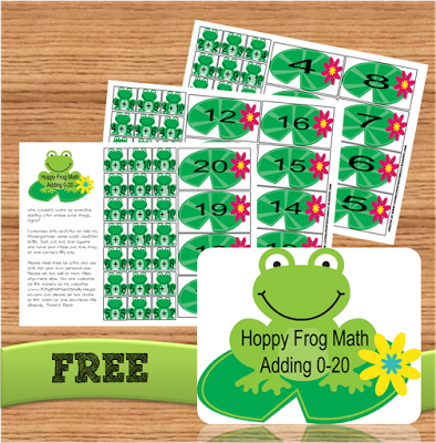Frog Math Png - Addition Games = Free Hoppy Frog Math