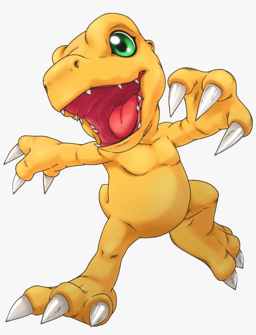 Agumon Png - Agumon As He Appears From Digimon Cyber Sleuth - Digimon Cyber ...