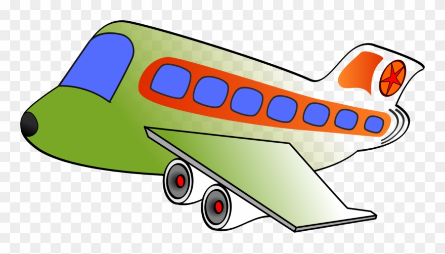 Transportation Clip Png - Airplane Air Transportation Clip Art - Airplane Clipart Big ...