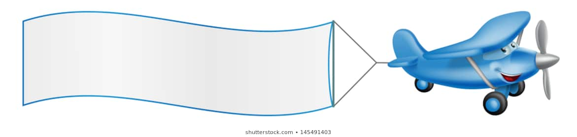 Airplane Pulling Banner Png Free Airplane Pulling Banner Png